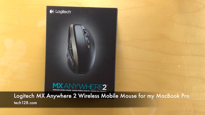 Logitech MX Anywhere 2 Wireless Mobile Mouse for my MacBook Pro
